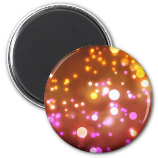 Glowing lights magnet