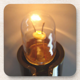 Glowing Low Voltage Light Bulb Coaster