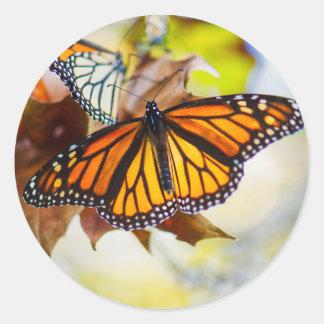 Glowing Monarch Sticker