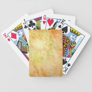 Glowing Parchment Bicycle Playing Cards
