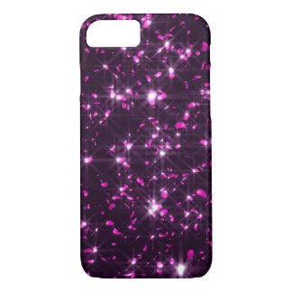Glowing Pink Cherry Blossom Petals iPhone 8/7 Case