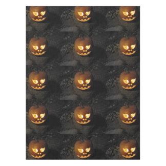 Glowing Pumpkin Tablecloth