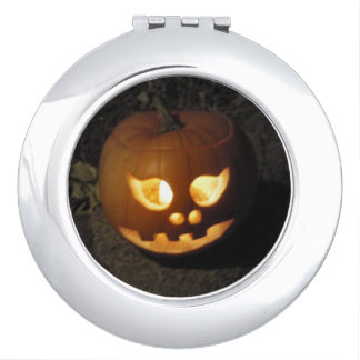 Glowing Pumpkin Vanity Mirrors