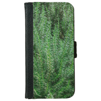 Glowing Rosemary Bushes iPhone 6 Wallet Case