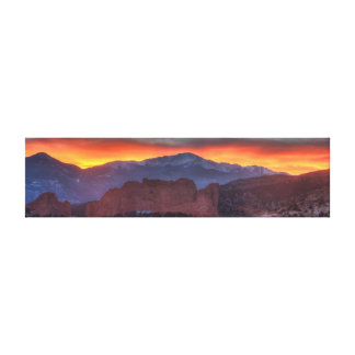 Glowing Sky Canvas Print