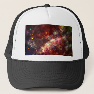 Glowing Spruce Branches Trucker Hat