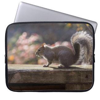 Glowing Squirrel Laptop Sleeve