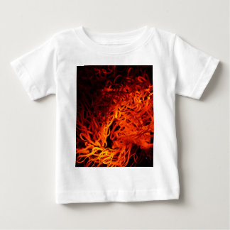 Glowing steel wool baby T-Shirt