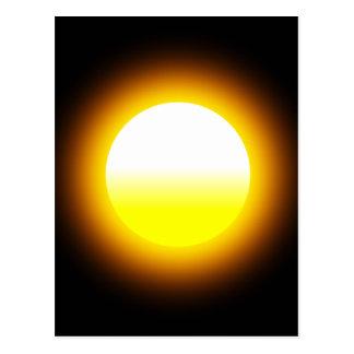 Glowing Sun Postcard