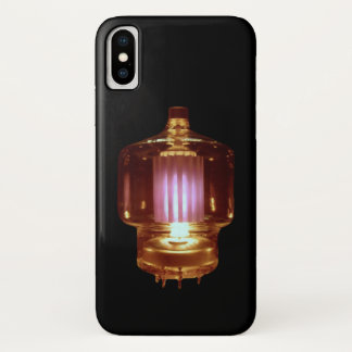 Glowing Transmit Vacuum Tube iPhone X Case