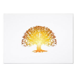 Glowing Tree Invitation