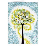 Glowing Tree of Life Card