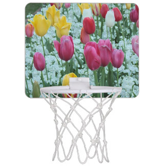 Glowing Tulip Garden Mini Basketball Hoop