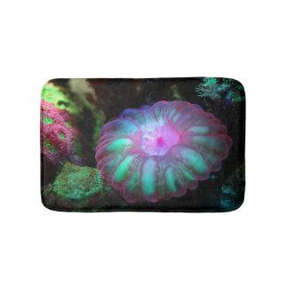 Glowing Undersea Coral Bath Mat