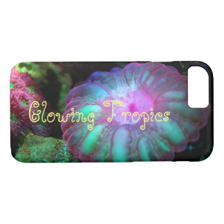 Glowing Undersea Coral iPhone 8/7 Case