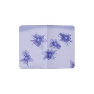 Glowing Violets Pocket Moleskine Notebook