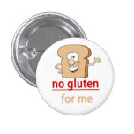 Gluten Allergy Alert 1 Inch Round Button