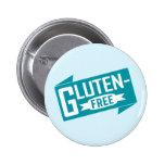 Gluten Free 2 Inch Round Button
