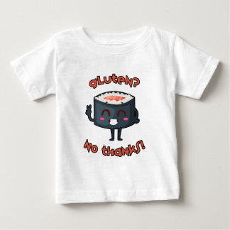 Gluten-Free Awareness Clothing Gluten? No Thanks! Baby T-Shirt