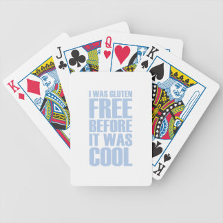 Gluten Free Bicycle Playing Cards