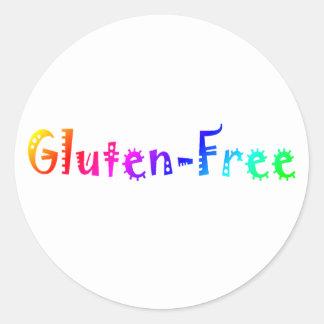 Gluten Free (Bright) Classic Round Sticker