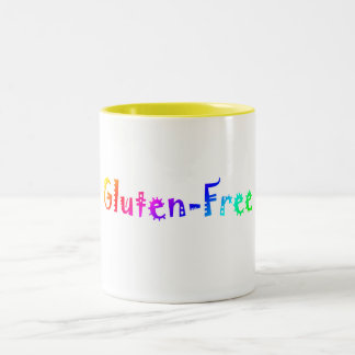 Gluten Free (Bright) Two-Tone Coffee Mug