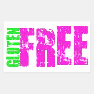 Gluten Free Cheerful Art Sticker