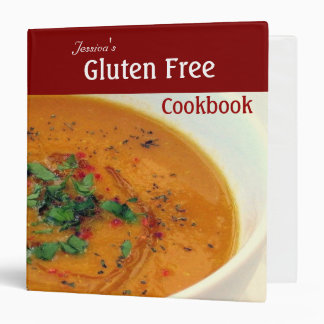 Gluten Free Cookbook Binders