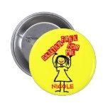 Gluten Free Daughter Buttons