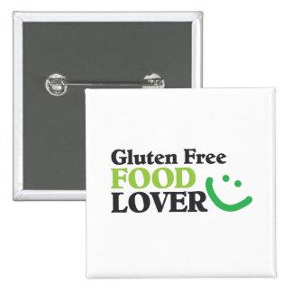 Gluten Free Food Lover Square Button