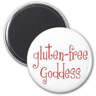Gluten Free Goddess Fridge Magnets