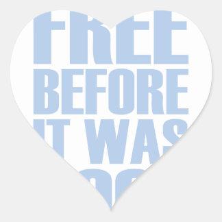 Gluten Free Heart Sticker