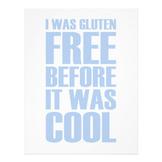 Gluten Free Letterhead