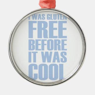 Gluten Free Metal Ornament