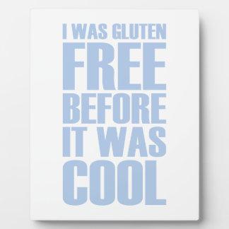 Gluten Free Plaque