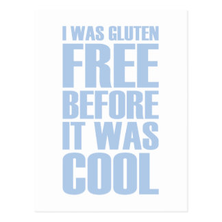 Gluten Free Postcard