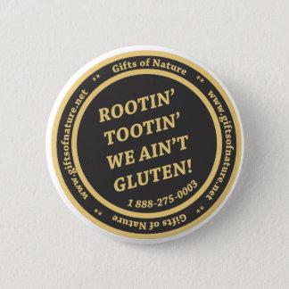 Gluten Free Slogan 2 Inch Round Button