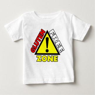 Gluten Free Zone (celiac disease - wheat allergy) Baby T-Shirt