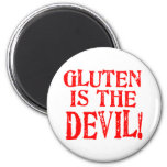 Gluten Is The Devil Magnets