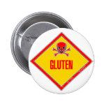Gluten Poison Warning Pins