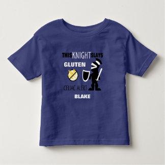 Gluten Slaying Knight Celiac Alert Toddler T-shirt