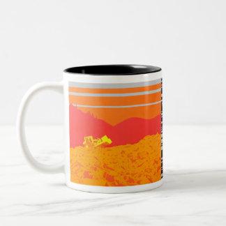 Gluttony Two-Tone Coffee Mug