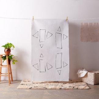 Glyph Pattern A Fabric