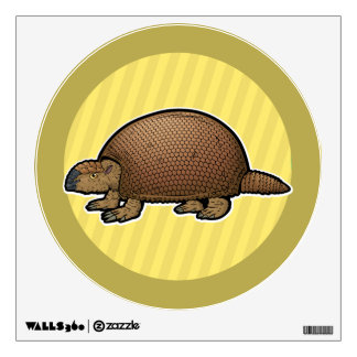 Glyptodon Wall Decal
