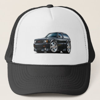 GMC Typhoon Black Truck Trucker Hat
