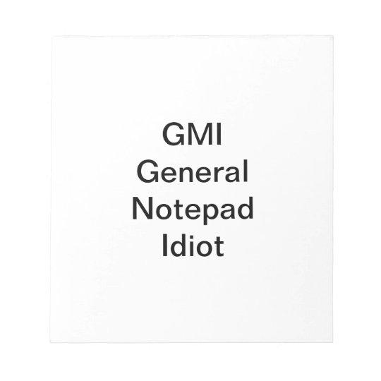 GMI Notepad