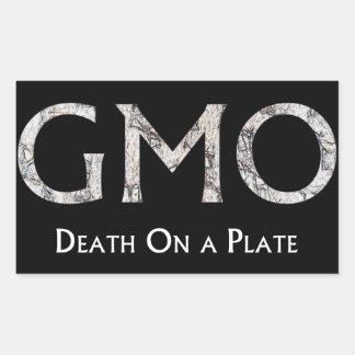 GMO - Döden på en tallrik Sticker