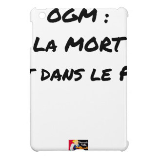 GMO? EAST DEATH IN the PRE one - Word games iPad Mini Cover