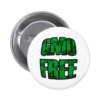 GMO Free in Green Button
