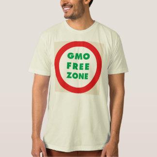 GMO free zone (Organic) T-Shirt